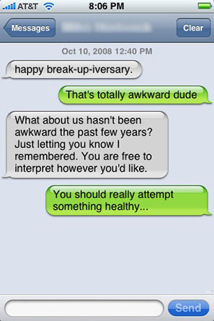 how to break up with someone youre not really dating
