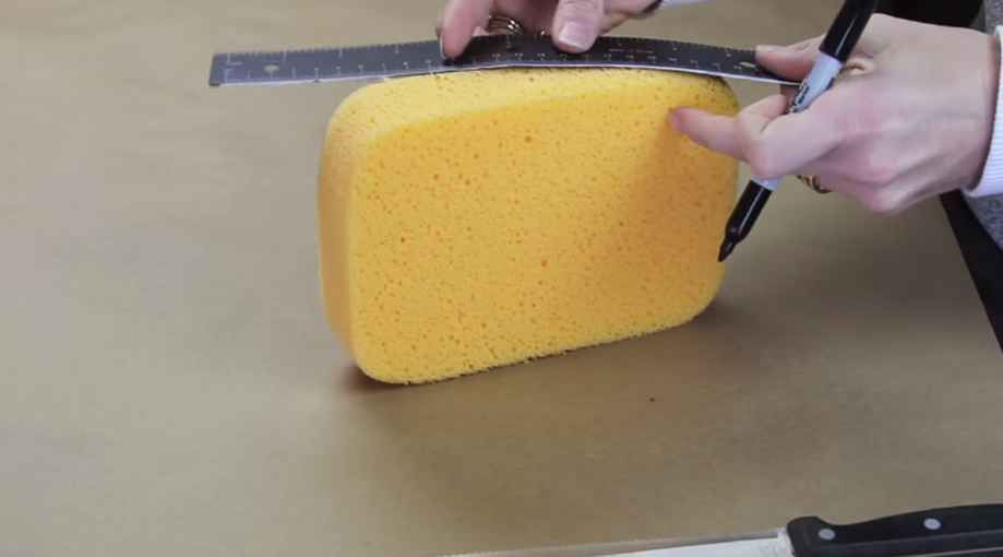 Spray Paint Cake Slice