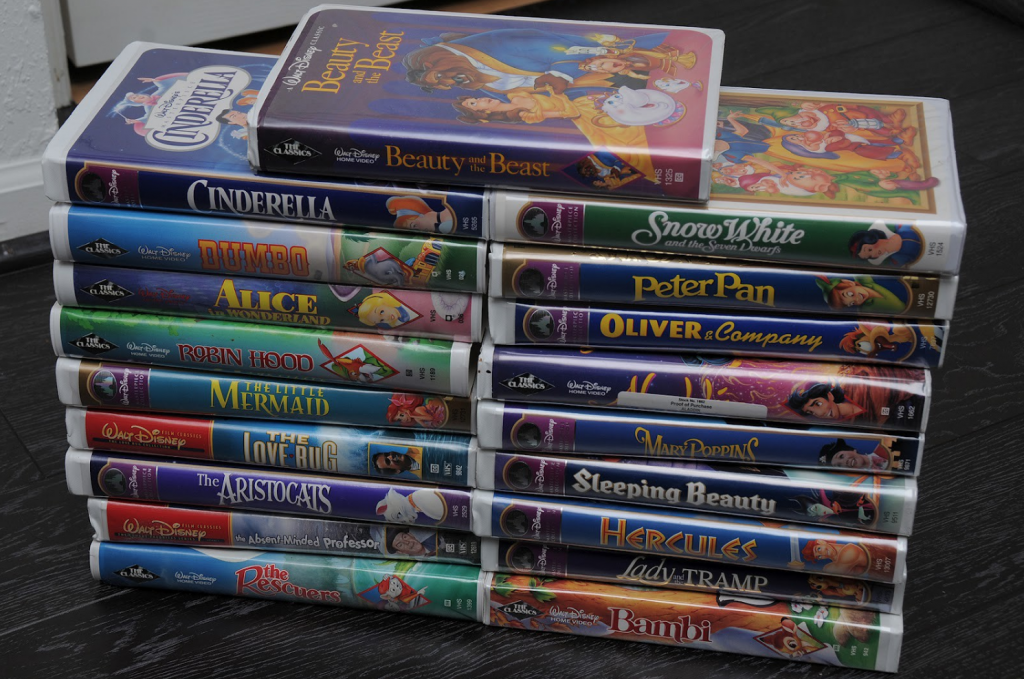 Collectors are offering large sums of money for disney vhs