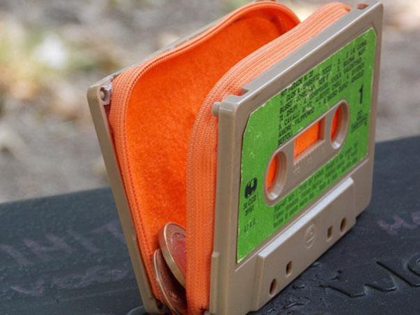 cassette purse