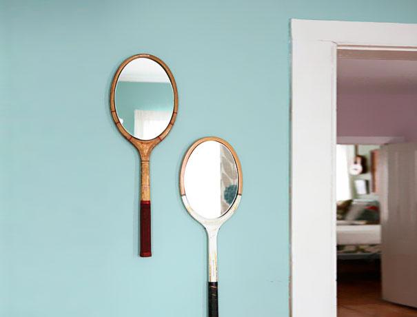 tennis mirror