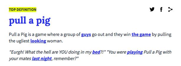 pig-definition