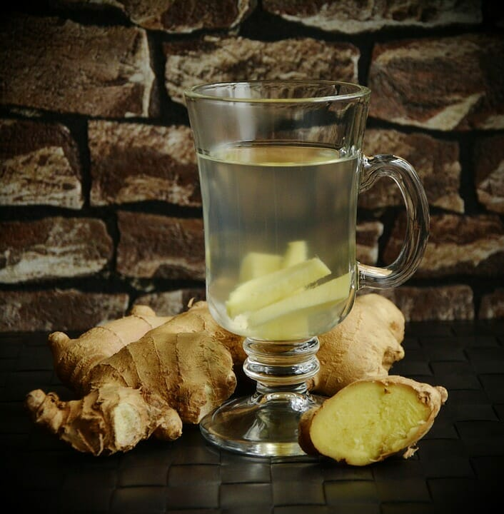 Ginger, shot, useful, health effects